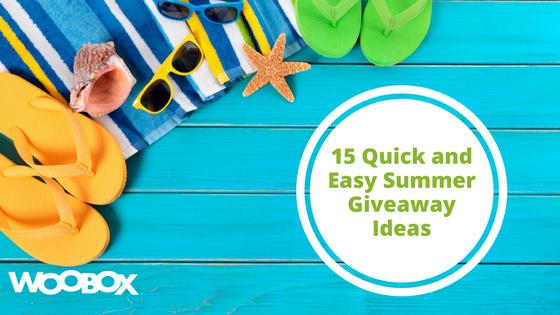 Blogger contest giveaways ideas