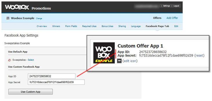 Custom Offer App: Edit