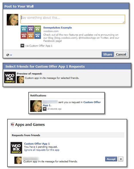 Custom Offer App: Sharing & App Invites