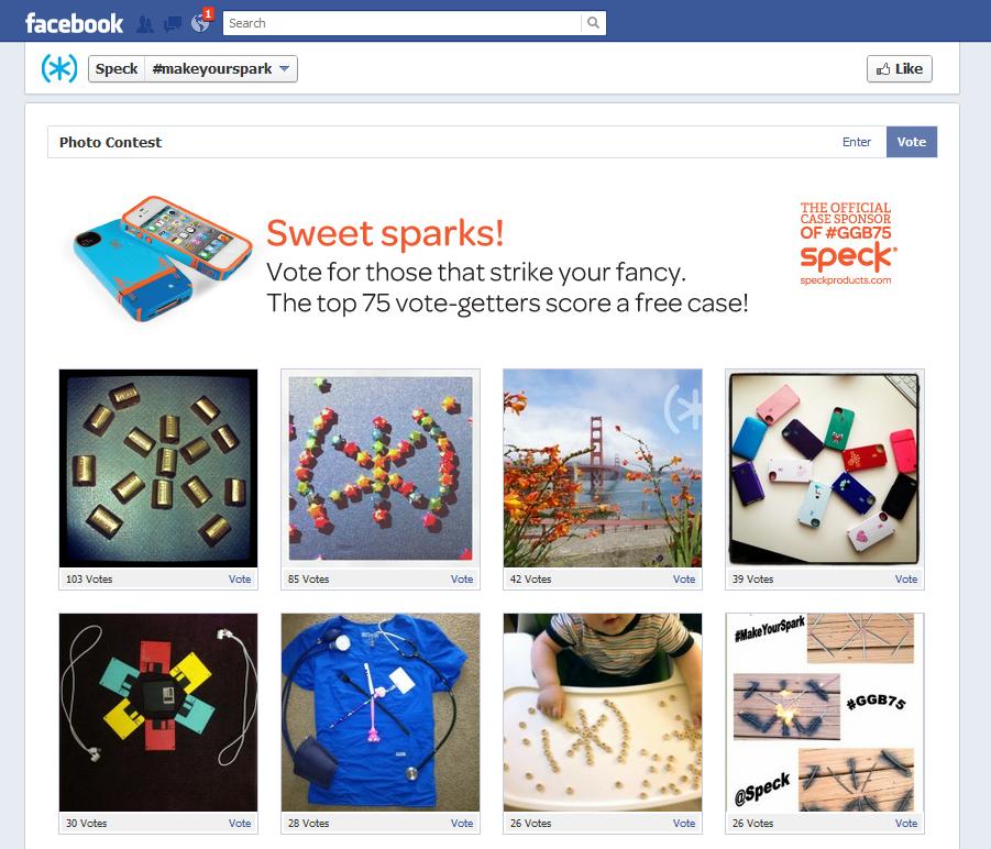 Speck Photo Contest - Vote Page