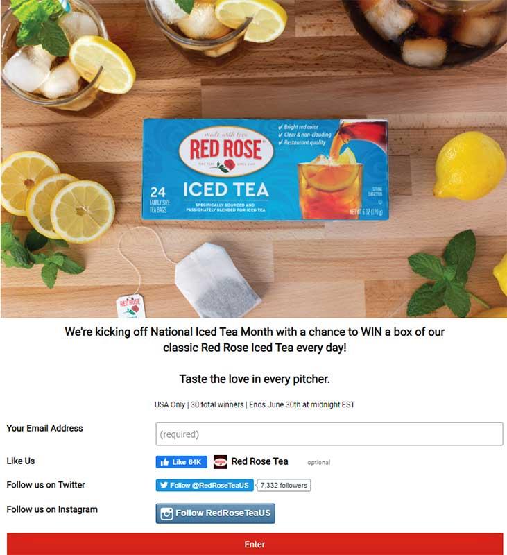 facebook giveaway idea example