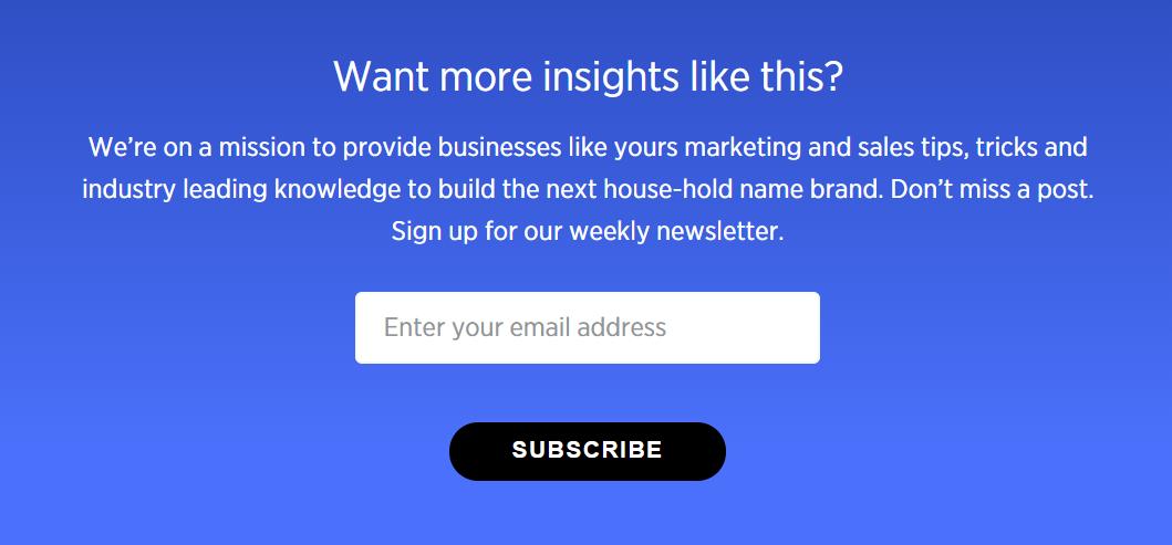 Woobox Email Marketing CTA Ideas Best Practices
