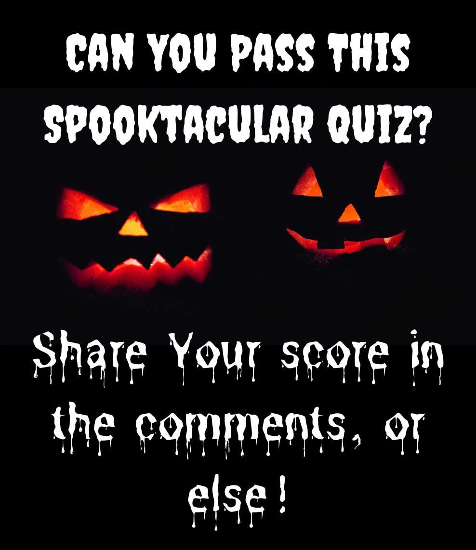 halloween quiz contest example