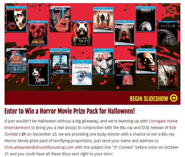 halloween contest example