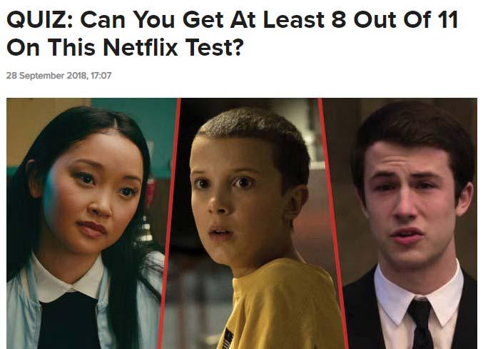 best quiz ideas examples