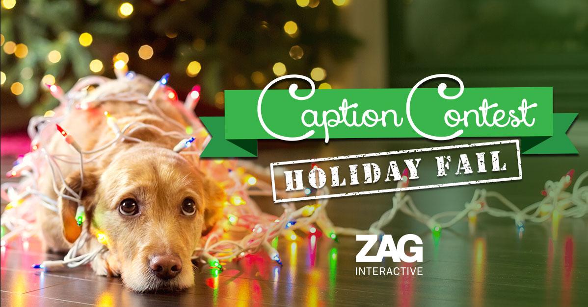 Creative Holiday Marketing Example Caption Contest