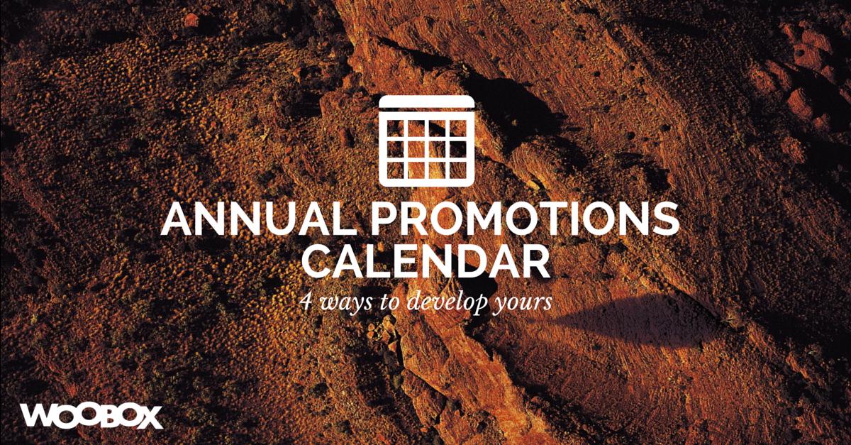 Annual PromotionsCalendar