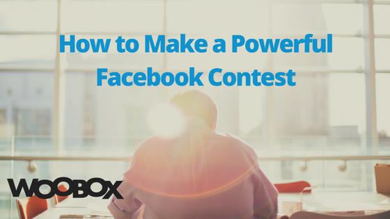 create a fb contest