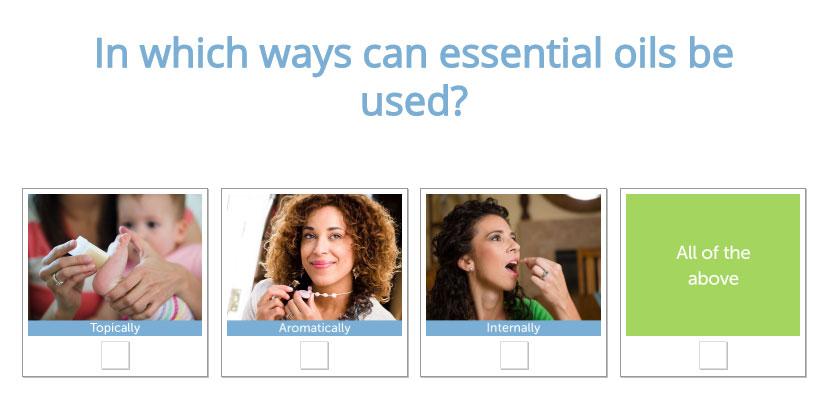 trivia quiz example marketing social media