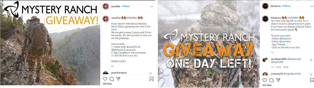 instagram random comment picker giveaway example woobox