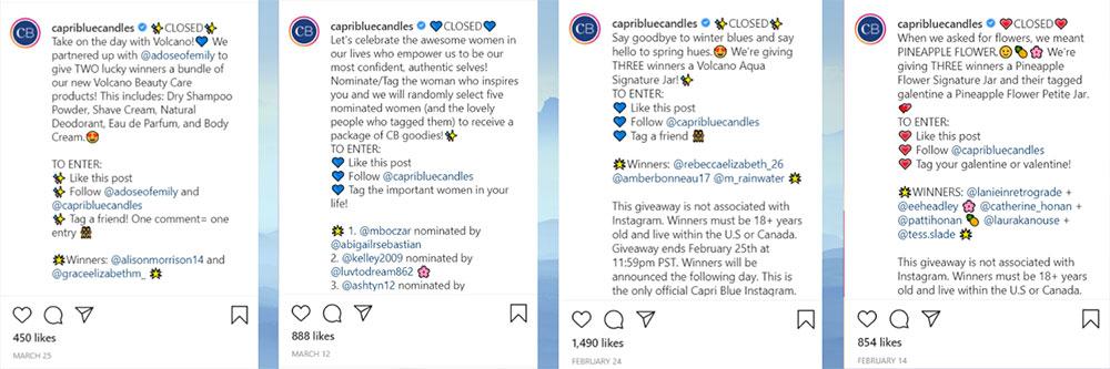 random instagram comment picker app giveaway example woobox