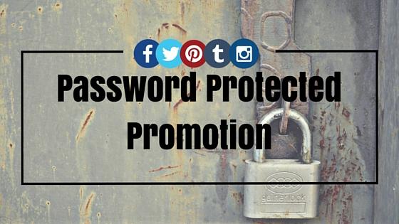 Password Promotion