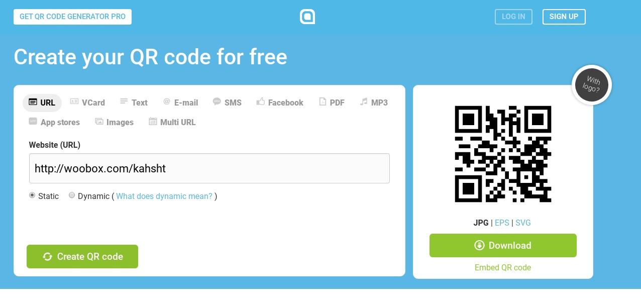 Woobox Tips: Advertising Woobox Campaigns using QR Codes – Woobox Blog