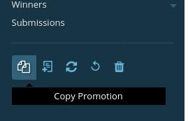 Copy Promotion Button