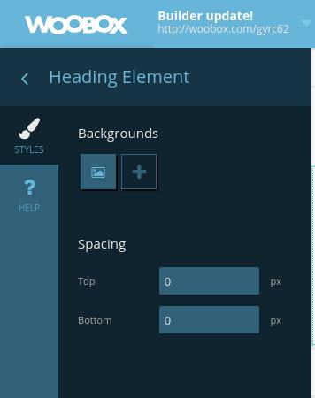 Element styles