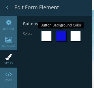 Enter button customization