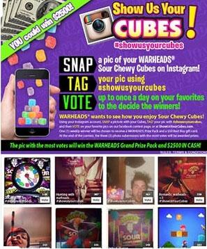 interactive marketing photo contest example