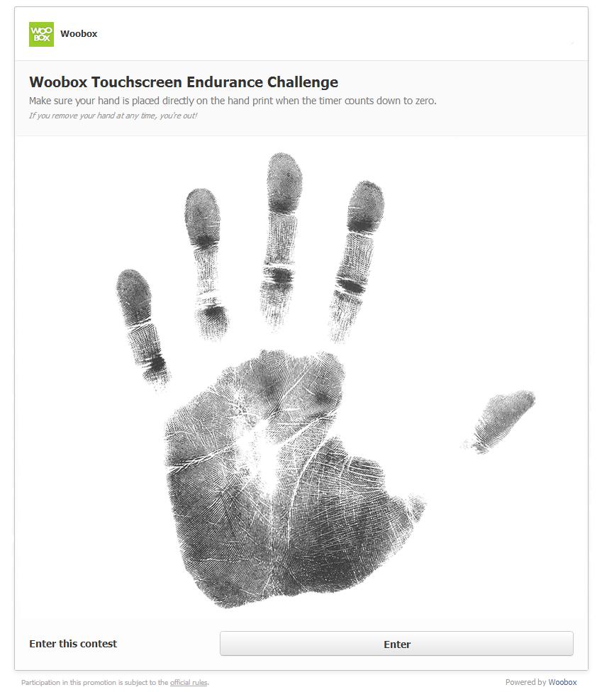 Touchscreen-handprint-area