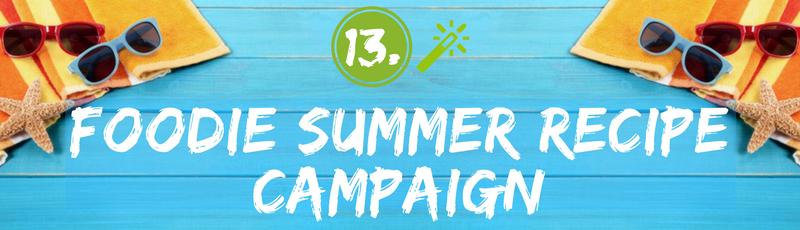 Summer Foodie Recipe Contest Idea